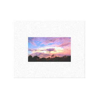 Painted Sky Photo Canvas Print