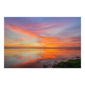 Painted Sky Sunset Photo