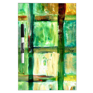 Painted Squares Art2 Dry Erase Whiteboards