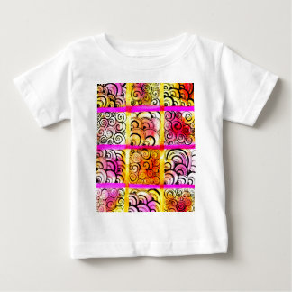 Painted Squares Art Baby T-Shirt
