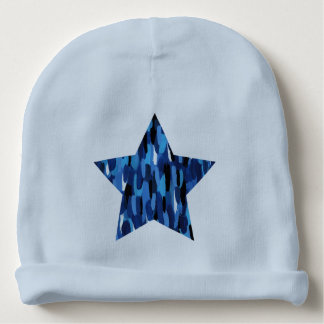 Painted Star Baby Beanie