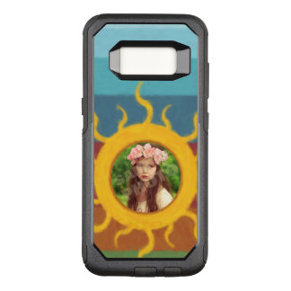 Painted Sun Photo Template OtterBox Commuter Samsung Galaxy S8 Case