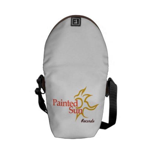Painted Sun Records - Messenger Bag Courier Bag