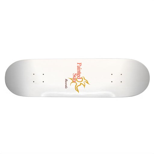 Painted Sun Records - Skateboard Skate Deck