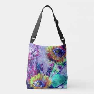 Painted Sunflower Tote