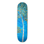 painted trees skate boards