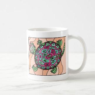 Painted Turtle Basic White Mug