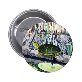 Painted Turtle Button