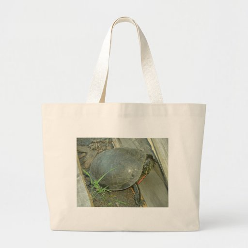 Painted Turtle (Chrysemys picta) Canvas Bag