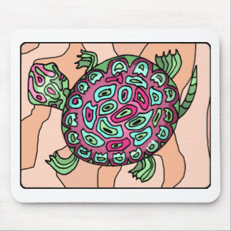 Painted Turtle Mouse Pads