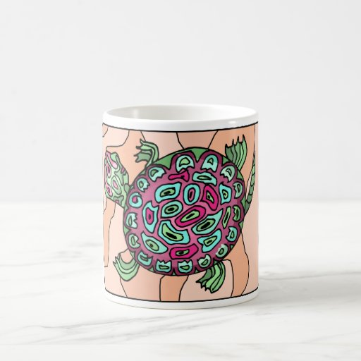 Painted Turtle Coffee Mugs