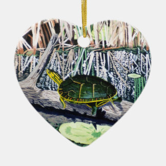 Painted Turtle Ornament