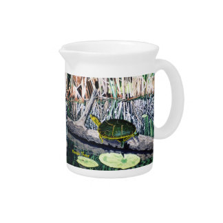 Painted Turtle Drink Pitchers