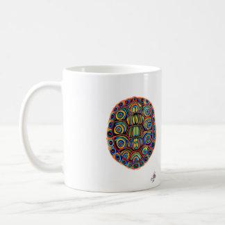 Painted Turtle Shell Mug