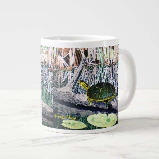 Painted Turtle Extra Large Mug