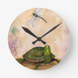 Painted Turtle Wall Clocks