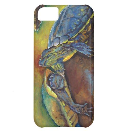 Painted Turtles iPhone 5C Cases