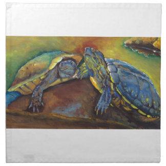 Painted Turtles Napkins