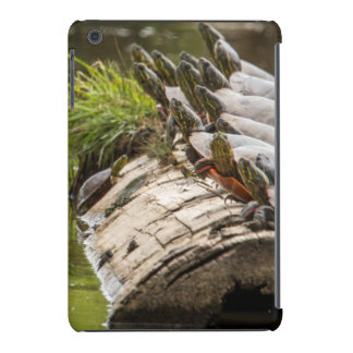 Painted Turtles Sunning Themselves In A Pond iPad Mini Case