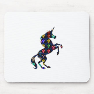 Painted UNICORN horse fairytale navinJOSHI NVN100 Mousepad