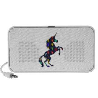 Painted UNICORN horse fairytale navinJOSHI NVN100 PC Speakers
