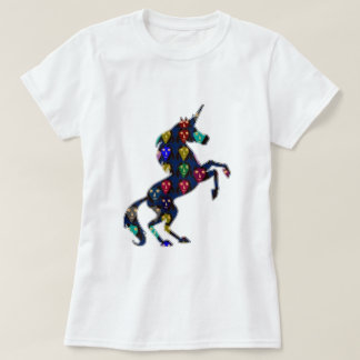 Painted UNICORN horse fairytale navinJOSHI NVN100 Tees
