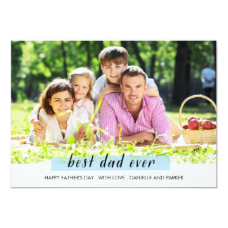 Painted washi tape father's day Card 13 Cm X 18 Cm Invitation Card