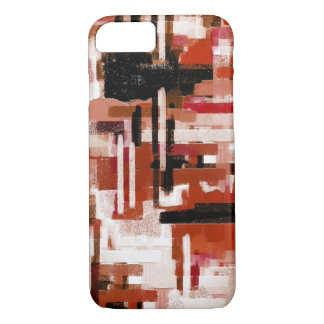 Painted Weave - Red iPhone 8/7 Case