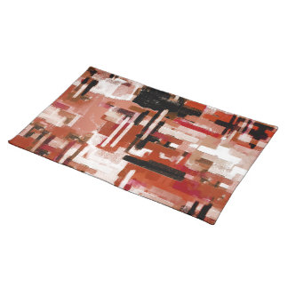 Painted Weave - Red Placemat