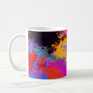 Painted Zebra Coffee Mug