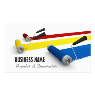 Painter and Decorator Business Card