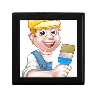 Painter and Decorator Cartoon Handyman Gift Box
