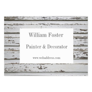 Painter and Decorator Customizable Business Cards