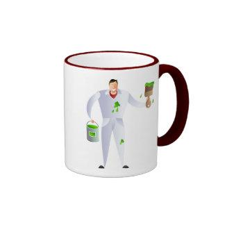 Painter and Decorator Ringer Mug