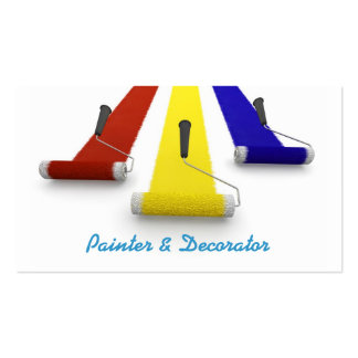 Painter and Decorators Business Card