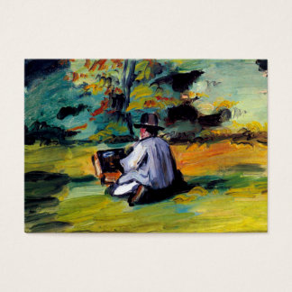 Painter at work impressionist art Paul Cezanne