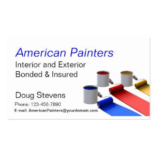 Painter Business Card Templates