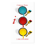 Painter Company Business Cards