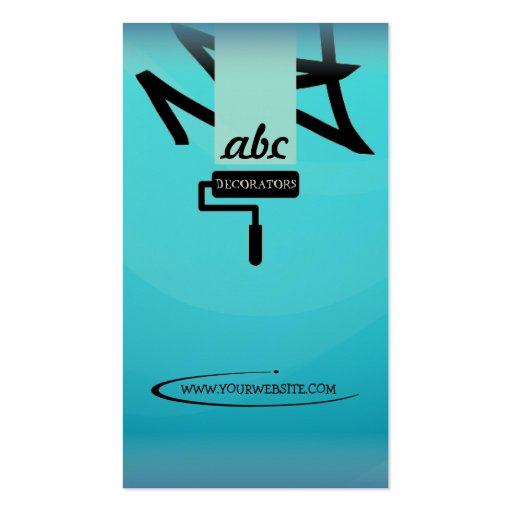 Painter & Decorator Business Card