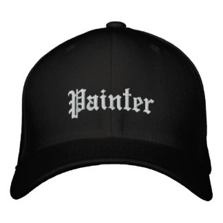 Painter Embroidered Hat