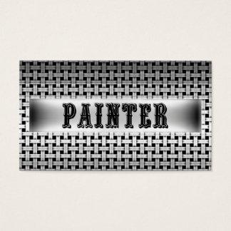 Painter Metal Look Business Card