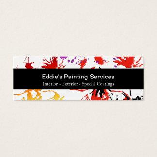 Painter Mini Business Cards