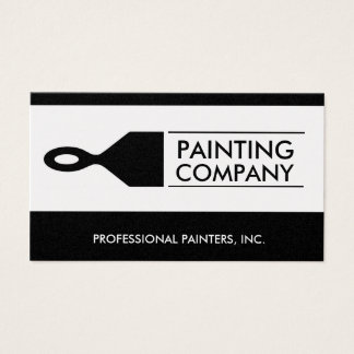 Painter Painting Contractor Paint Brush Gold Paper