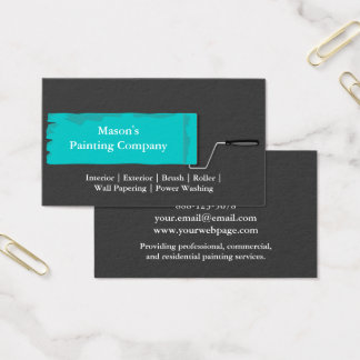 Painter Painting Paint Roller Business Card
