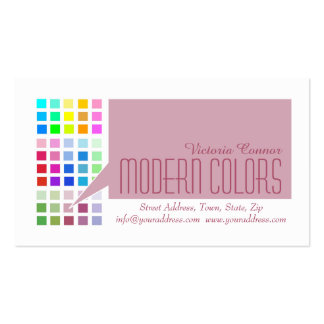 Painter Service Color Master Business Card