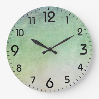 Painterly abstract background clocks