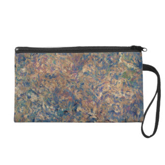 Painterly Abstraction TPD Wristlet
