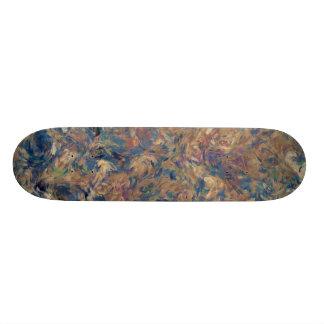 Painterly Abstraction TPD Custom Skateboard