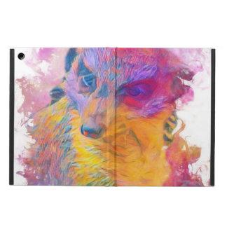 Painterly Animal - Meerkat iPad Air Case