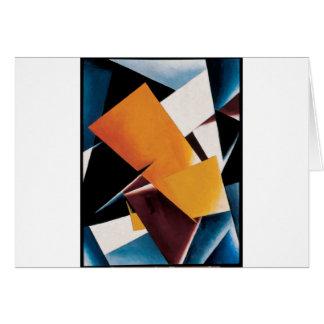 Painterly Architectonic by Lyubov Popova Greeting Card